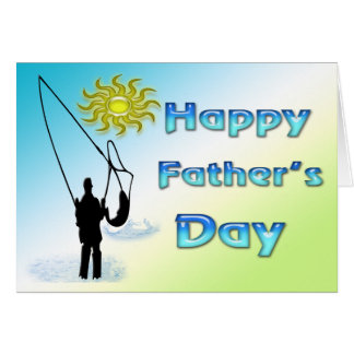 Happy fisherman cards happy fisherman card templates for Father s day fishing card