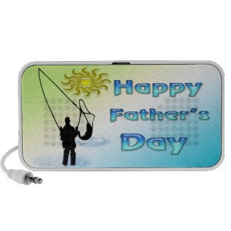 Fishing - Happy Father's Day Doodle Speaker doodle