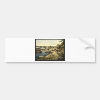 Fishing harbor, Biarritz, Pyrenees, France Bumper Sticker