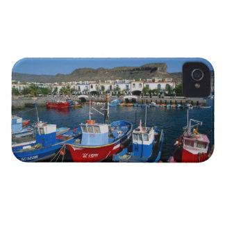 Fishing Harbor, Puerto de Mogan, Gran Canaria, iPhone 4 Cover