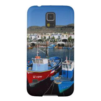 Fishing Harbor, Puerto de Mogan, Gran Canaria, Case For Galaxy S5
