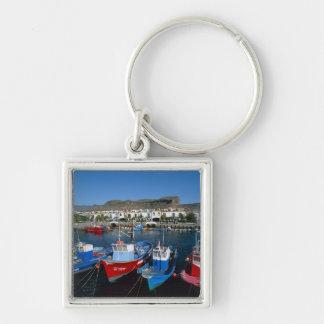 Fishing Harbor, Puerto de Mogan, Gran Canaria, Keychain