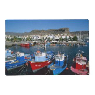 Fishing Harbor, Puerto de Mogan, Gran Canaria, Placemat