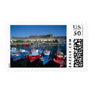 Fishing Harbor, Puerto de Mogan, Gran Canaria, Postage