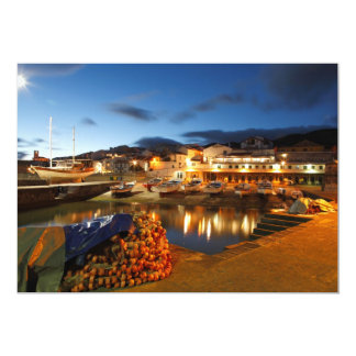 Fishing harbour card