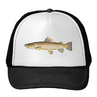 Fishing hat - Brown Trout Fish