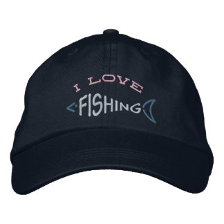 Fishing Hat Embroidered Baseball Caps