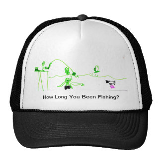 Fishing hat for the newbies and old timers