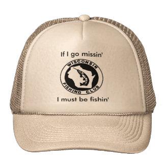 Fishing Hat - Wisconsin