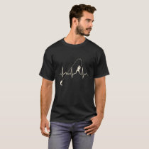 Fishing heartbeat Tshirt