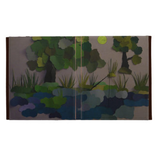 """""""Fishing Hole"""" iPad Folio Cover"""