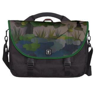 """Fishing Hole"" Laptop Computer Bag"