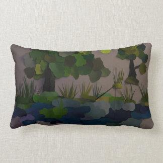 """Fishing Hole"" Throw Pillows"