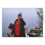 Fishing Home Movie Greeting Card