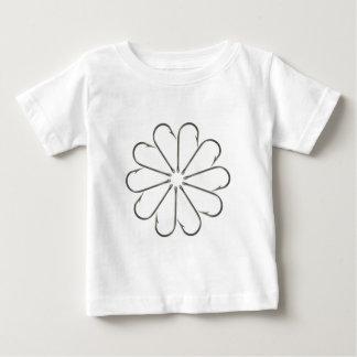 Fishing Hook Flower Baby T-Shirt