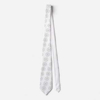 Fishing Hook Flower Tie