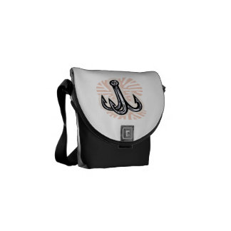 Fishing Hook Courier Bags