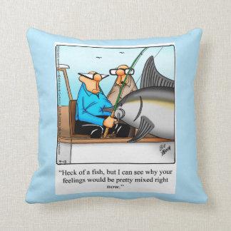 Fishing Humor Pillow Gift