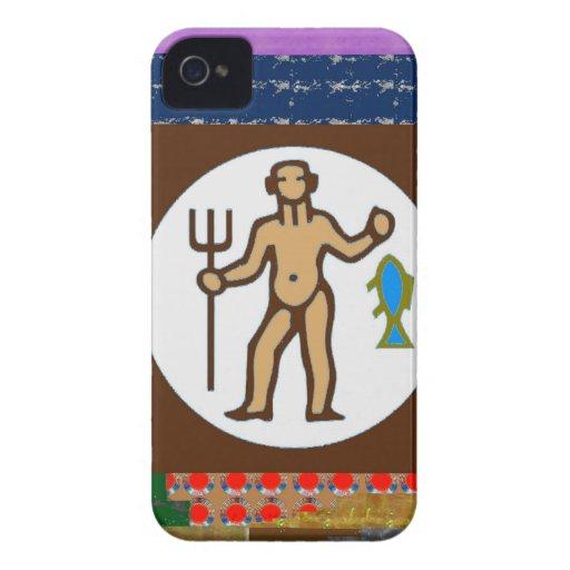 FISHING HUNTING Fish Hunter Wild Hobby Cartoon GIF iPhone 4 Case-Mate Cases