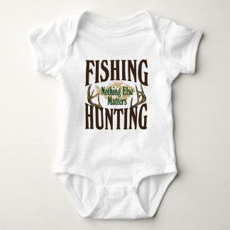 Fishing Hunting Nothing Else Matters Baby Bodysuit