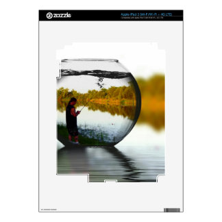 Fishing in a Fishbowl iPad 3 Decals