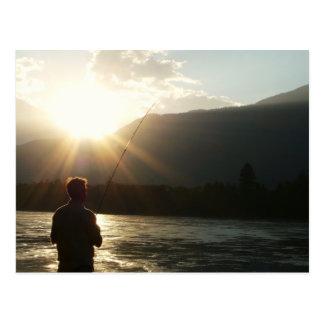 Fishing in a Sunbeam Postcards