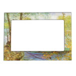 Fishing in Spring by Vincent van Gogh Magnetic Frames