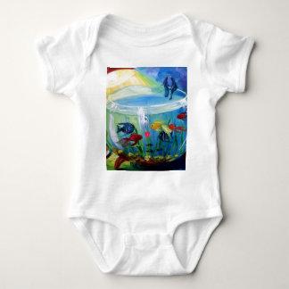 Fishing in the aquarium t shirt