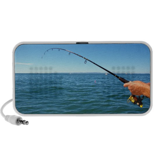 Fishing in the Middle of the Ocean Mini Speaker