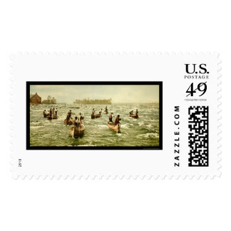 Fishing in the Soo Canal at Sault Ste. Marie 1901 Stamps