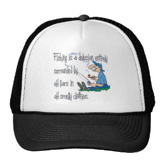 Fishing is a Delusion Trucker Hat
