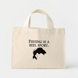 Fishing Is A Reel Sport Bags