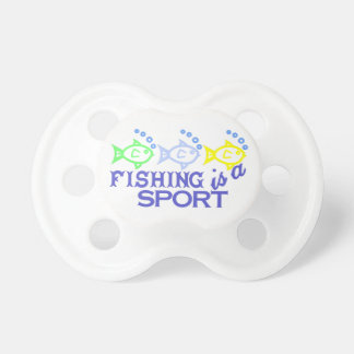 Fishing Is A Sport Pacifier