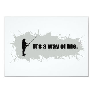 Fishing Is a Way of Life Card
