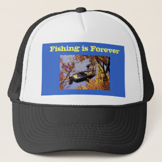 Fishing is Forever Hat