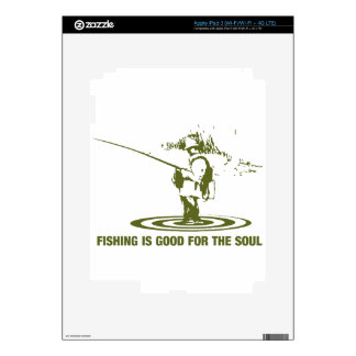 Fishing Is Good For The Soul iPad 3 Skin
