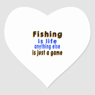 Fishing is life anything else is just a game sticker