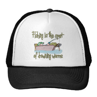 Fishing is the Sport of Drowning Worms Mesh Hat