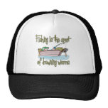 Fishing is the Sport of Drowning Worms Trucker Hat