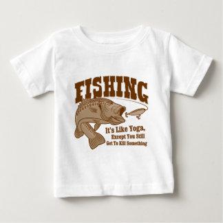 Fishing: It's like Yoga, except you kill something Infant T-shirt
