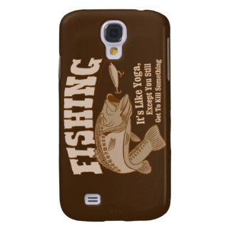 Fishing: It's like Yoga, except you kill something Samsung Galaxy S4 Cover