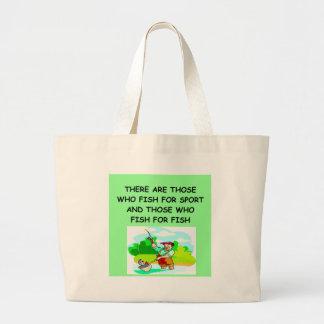 FISHing joke Jumbo Tote Bag