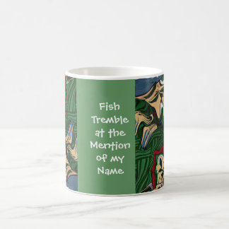 fishing joke classic white coffee mug