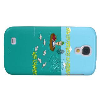 Fishing joke with dynamite galaxy s4 cover