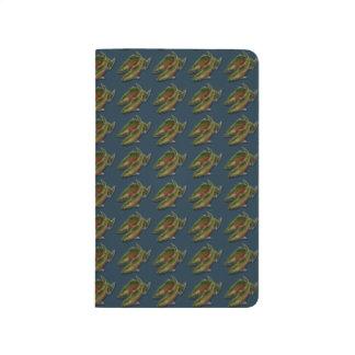 Fishing Journal Custom Coho Salmon Art Notebook