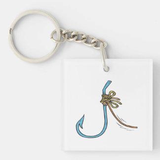 Fishing Knot Keychain