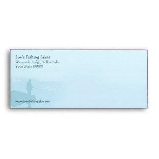 Fishing lake envelope