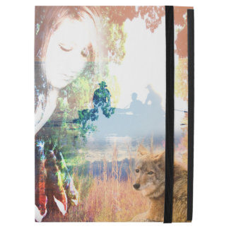 """Fishing Landscapes North American Park Outdoor iPad Pro 12.9"""" Case"""