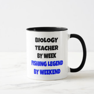 Fishing Legend Biology Teacher Mug