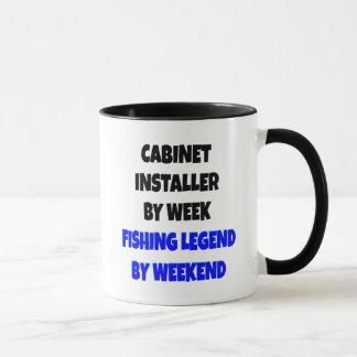Fishing Legend Cabinet Installer Mug